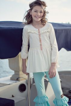 Good Hart, Spring 2013: Crescendo Poet Top, Matilda Jane Girls Clothing
