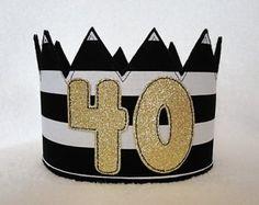 Birthday Crown Birthday Hat Gold Crown by MnMExtras Diy Birthday Crown, Birthday Party Hats, 50th Party, Gold Birthday, Birthday Crowns, First Superhero, Diy Adult, Diy Crown, Happy 50th