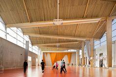 Lycées Louise-Michel et Louis-Aragon, Gisors, Archi5 - Realisation