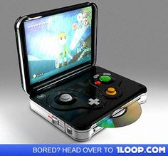 Hand held game cube!