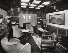 Chief Purser's Salon, SS Normandie