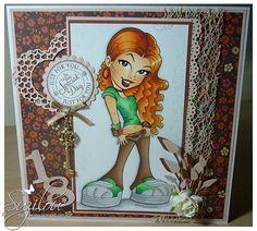 Suzilou's Blog Spot, kennyk stamp