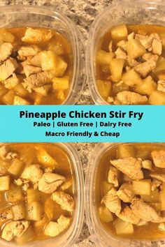 This simple Paleo chicken recipe is perfect for meal prepping and quick dinners! It's part of my macro based meal plan. Paleo Chicken Recipes, Healthy Recipes On A Budget, Paleo Recipes Easy, Healthy Food, Healthy Meals, Healthy Life, Budget Freezer Meals, Frugal Meals, Paleo Meal Prep