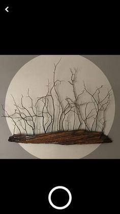Ideas Drift Wood Art For 2019 art diy art easy art ideas art painted art projects Nature Crafts, Home Crafts, Diy Home Decor, Art Crafts, Driftwood Projects, Driftwood Art, Driftwood Mobile, Driftwood Wreath, Diy Wall Art