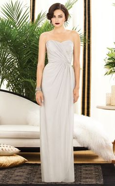 Dessy Collection 2882 Draped Bridesmaid Dress image
