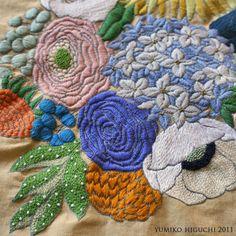 Hydrangea- more beauty and workmanship from Yumiko Higuchi