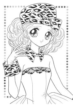 Cute Coloring Pages, Coloring Pages For Girls, Cartoon Coloring Pages, Disney Coloring Pages, Adult Coloring, Coloring Books, Digital Stamps Free, Chibi, Japanese Drawings