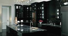 Luxurious #dark #kitchen design
