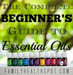 Beginner's Guide to Essential Oils — Sweeter Than Me