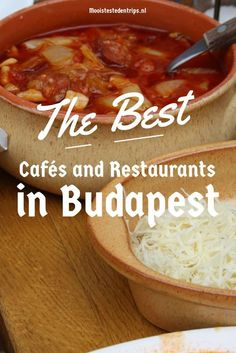 Guide to the best cafés, coffee houses, restaurants and food shops in Budapest, Hungary