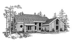 Eplans Contemporary-Modern House Plan - Abundant Livability - 2674 Square Feet and 3 Bedrooms(s) from Eplans - House Plan Code HWEPL00704