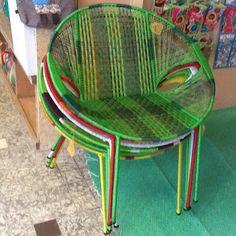 kleurrijke stoelen  casa colora in Schagen