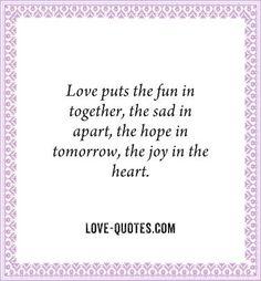 Love puts …   LAND OF FUN