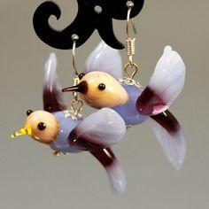 Handmade Lampwork BeadsLampwork Beads by JewelryBeadsByKatie