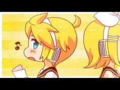 Kagamine Rin-Len: Electric Angel [English Sub] えれくとりっく・えんじぇぅ