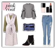 """""""Hey, Girl: Pretty Pink Coats"""" by mariannamic on Polyvore featuring Walk of Shame, Topshop, Sophia Webster, Rebecca Minkoff, Chanel, Illamasqua, Winter, Pink, casualwear and coats"""