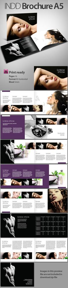 Brochure A5 by dany_j (via Creattica)