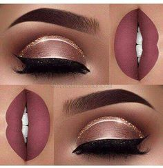 Eye Makeup Tips.Smokey Eye Makeup Tips - For a Catchy and Impressive Look Cute Makeup, Prom Makeup, Gorgeous Makeup, Pretty Makeup, Lip Makeup, Makeup Glowy, Devil Makeup, Witch Makeup, Unique Makeup