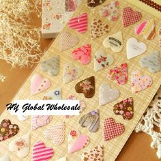 New creative 3D heart style quality PVC sticker/DIY Multifunction label /mobile stickers /Scrapbooking School Office Stationery #>=#>=#>=#>=#> Click on the pin to check out discount price, color, size, shipping, etc. Save and like it!