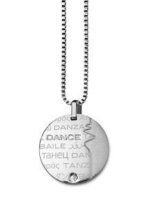Show the World that DANCE is your passion with our dance theme pendant necklace made of the highest Stainless Steel quality 316L at: www.my316L.com (for: $41.20) #dance #dancing #passion #movement #rhythm #songs #choreography #ballet #breakdance #hiphop #tango