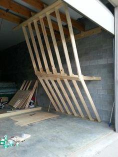 home climbing wall plywood 6