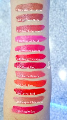 Estee Lauder Pure Color Envy Liquid Lip Potion Swatch