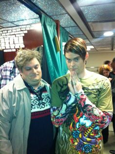 Drunk Uncle and Stefon! My 2 favorite snl weekend update characters of all time!!!!