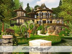 Elven Cottage 3 by Pralinesims - Sims 3 Downloads CC Caboodle