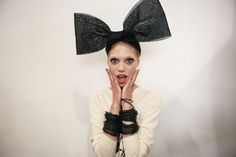 It's here! i-D Magazine snapped a behind the scenes photo of our new bangle collaboration with offbeat designers SIBLING backstage at London Fashion Week. See more now: http://i-d.vice.com/en_gb/look/fashion-stories/4614/lfw-backstage-at-sibling-ss15