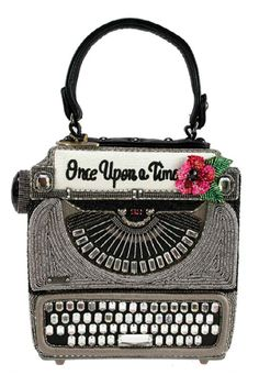 Augustina Leathers - Mary Frances Hand Made Embellished Just My Type Handbag, $298.00 (http://www.augustinaleathers.com/mary-frances-hand-made-embellished-just-my-type-handbag/)
