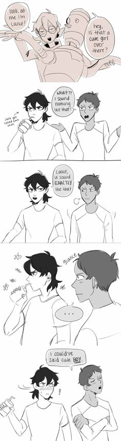 Keith / Lance | Pidge