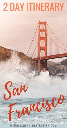 Make the most of your short time in San Francisco by following this 2 day itinerary. The perfect guide to a weekend in San Francisco