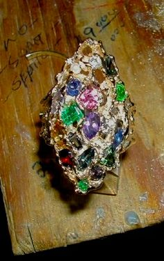 Ring, Stone Cluster