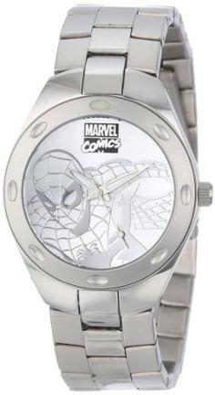 Marvel Comics Men's W001054 Fortaleza Spider-Man Watch -- #NoveltyWatchesGiftIdeas