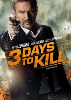 #790. 3 Days to Kill, March, 2016. Dying of brain cancer, an international spy, Eathan Renner tries to give up his high stakes life to build a closer relationship with his estranged wife and daughter Zooey, whom he's kept at arm's length to keep them safe. First, he must complete one last mission. It will mean juggling the two toughest assignments yet: hunt down the world's most ruthless terrorist and look after his teenage daughter for the first time in years while his wife is out of town.