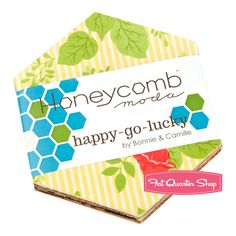 Happy Go Lucky Honeycomb Bonnie & Camille for Moda Fabrics. My next project.