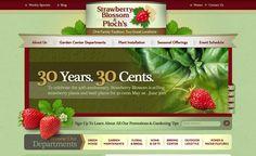 Web design for a garden center in Wayne, NJ.