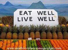 Eat Well Live Well At the Sunshine Coast Show Sunshine Coast, Eating Well, Wellness, Events, Cheese, Live, Clean Eating Foods, Healthy Eating, Eat Right
