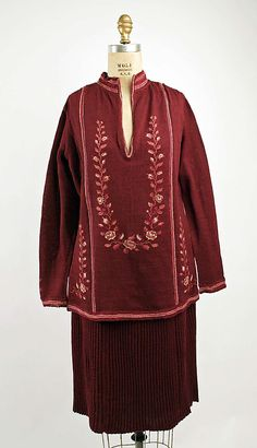 Dress Date: 1926–27 Culture: probably American Medium: silk Accession Number: 1975.138.20a, b