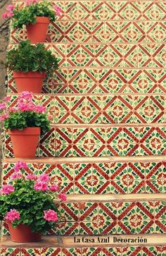Mexican tiles. Just wow.