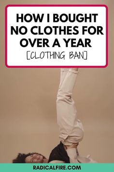 What will happen if you don't buy clothes for a year? You saved money! Clothing ban is not just about saving money but also learning the power of decluttering! Without buying means you can clean out your closet, donate clothes and accessories, or redesign your old ones. During these times you can get creative as you can be without spending any penny. Money Hacks, Money Tips, Money Saving Tips, Save Money On Groceries, Ways To Save Money, Money Clothing, Dividend Investing, Finance Organization, Money Saving Challenge