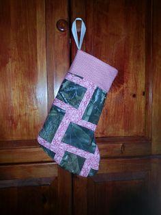 Pink/camo stocking
