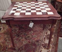 Beautiful game table!