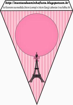 Paris Party Banners.