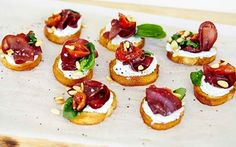 Appetizer Salads, Vegan Appetizers, Swedish Recipes, Italian Recipes, Veg Recipes, Wine Recipes, Queso Fresco, Food Fantasy, Party Food And Drinks