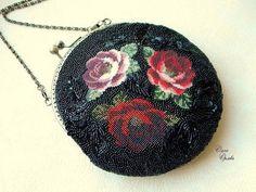 Женские сумки ручной работы. Ярмарка Мастеров - ручная работа Три розы. Handmade.