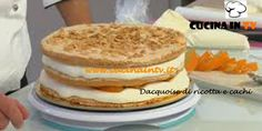 Dacquoise di ricotta e cachi ricetta Renato da Torte in corso | Cucina in tv