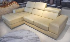 This gorgeous and modern full leather sectional will set the stage for any living room! Leather Living Room Furniture, Leather Sectional, Charlottesville, Couch, Modern, Home Decor, Trendy Tree, Decoration Home, Leather Corner Sofa