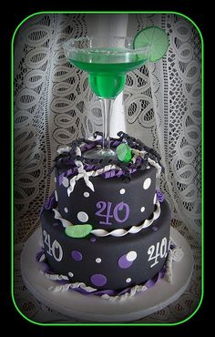 Surprise 40th Birthday Cake by It's All About the Cake, via Flickr could be my 50th cake!!