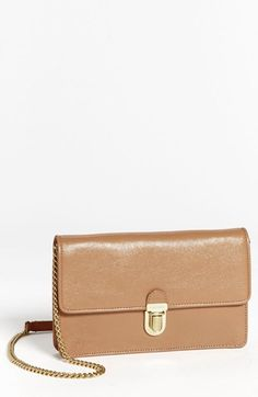 MARC JACOBS Leather Clutch available at #Nordstrom